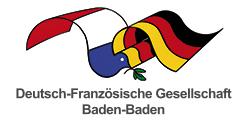 Deutsch-Französische Gesellschaft Baden-Baden Logo